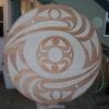 acrylic on red cedar - 6