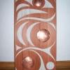 """acrylic on red cedar - 32x16"""""""