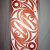 """acrylic on red cedar - 48x24"""""""