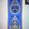 """acrylic on wood - 72x24"""""""