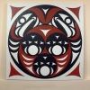"""acrylic on canvas - 48x48"""""""