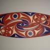 acrylic on yellow cedar - 5